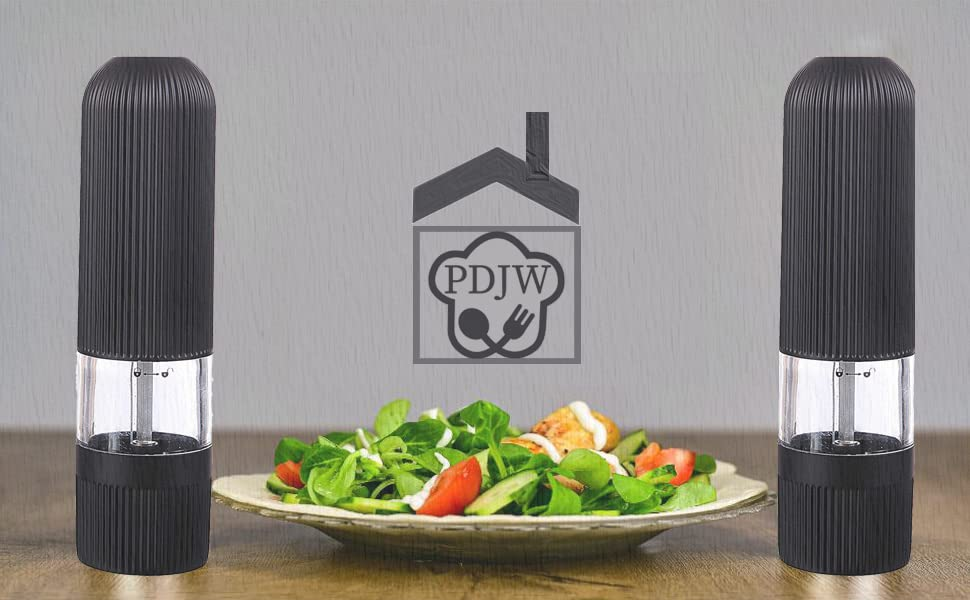 Incredibly easy to use-Freshly grounded salt and pepper with just the press of a button-ideal