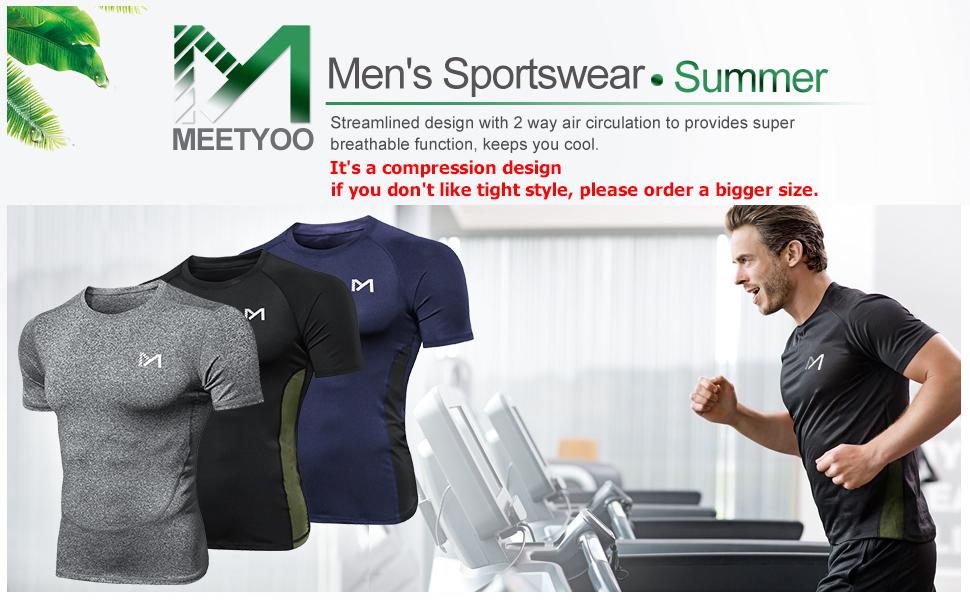 comprssion t shirt for men