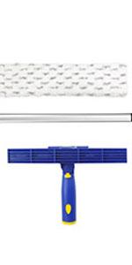 microfiber duster,fan duster,fan cleaning tool,ittaho,window cleaning kit,spring cleaning tool