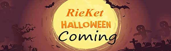 RieKet Women's Halloween Costume Skeleton Dress