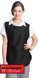 cobbler apron for house keeping overall with pockets cobler adjustable tie fits men or woman large