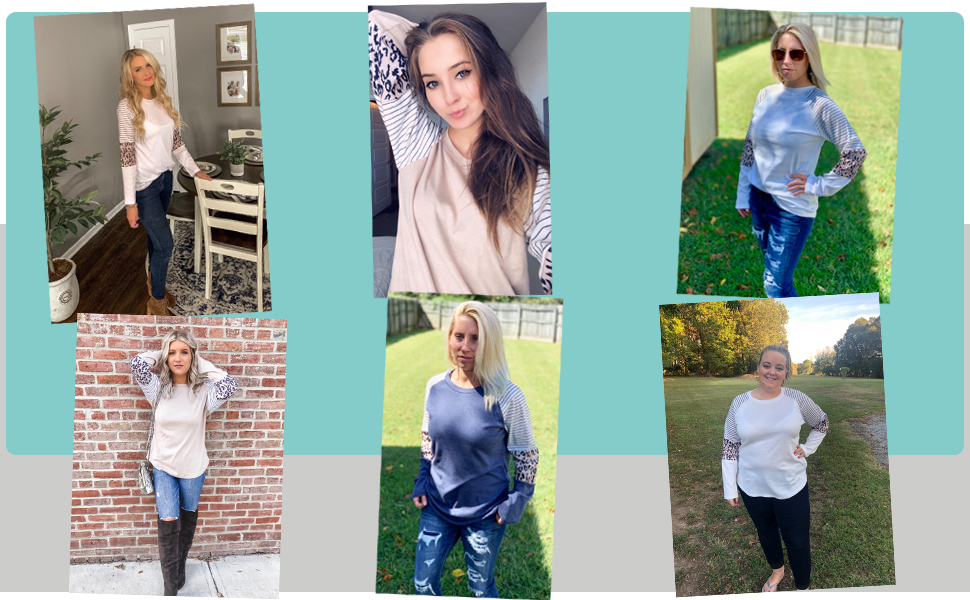 fall tops for women long sleeve