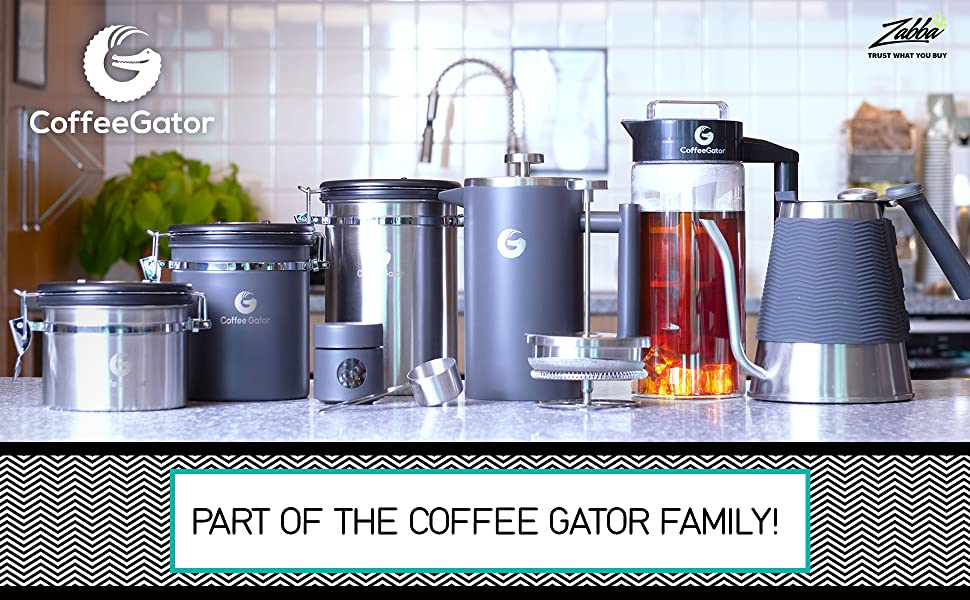 Coffee Gator Canister