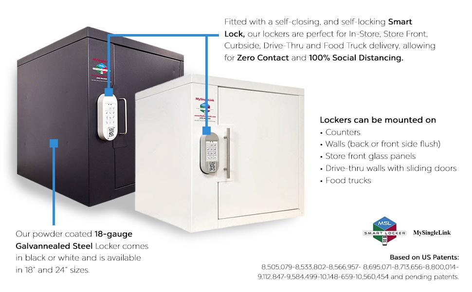 MySingleLink Smart Locker for Merchants