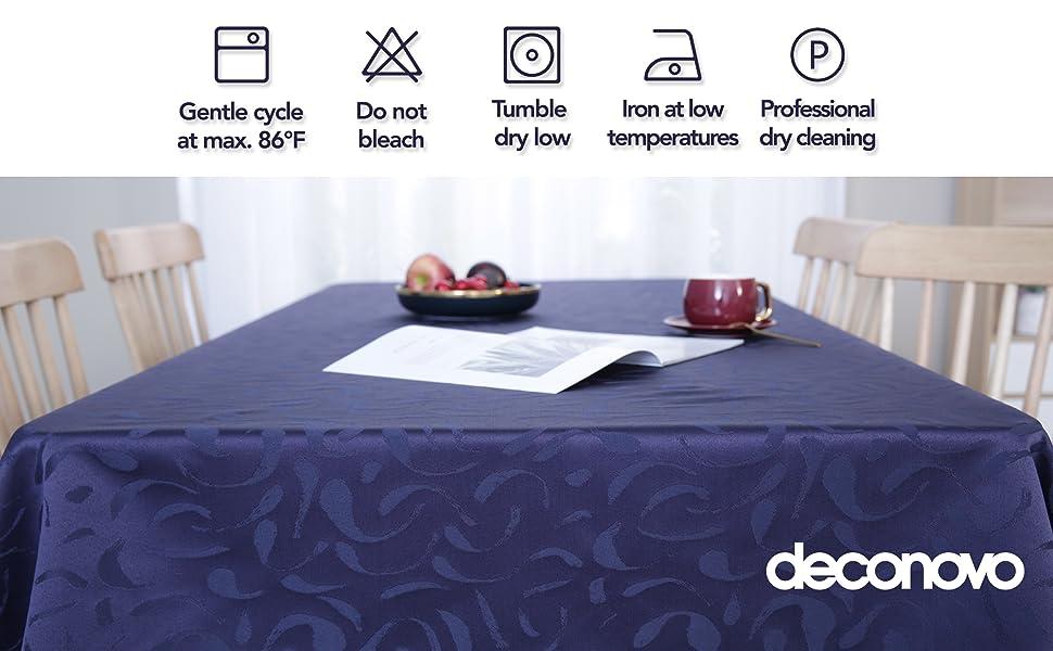machine washable tablecloth