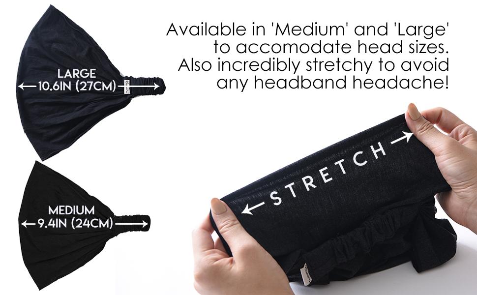 headband headache large medium size big oversized sun protection summer winter fall spring accessory