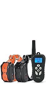 PetSpy M919 dog training collar with remote shock