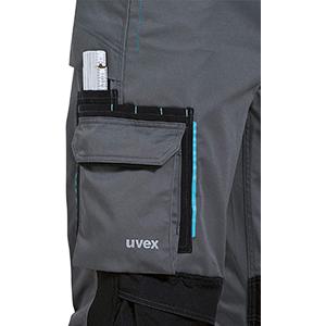 Uvex Perfexxion Lange Arbeitshose f/ür Herren Cargo-Latzhose mit Knietaschen