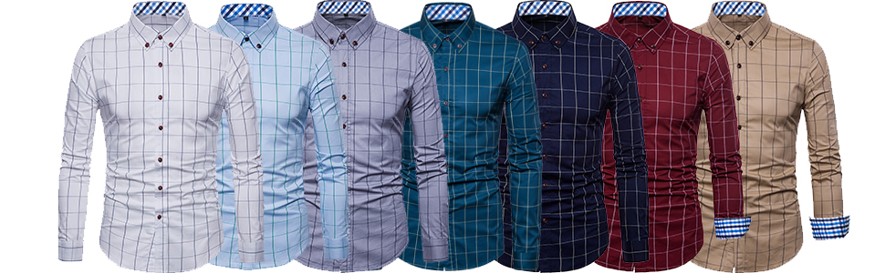 casual button down shirts for men