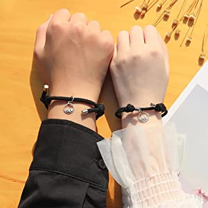 magnet bracelet for couples