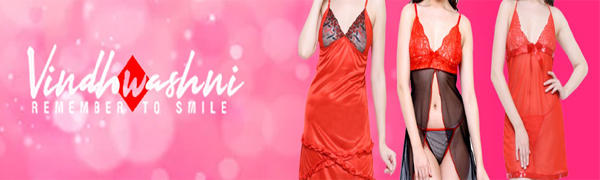 vindhwashni baby doll lingerie bikini set transparent stylish bra honeymoon gift special bridal