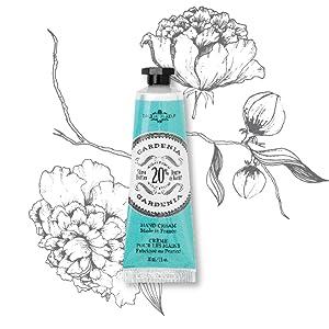 hand cream, lotion, shea butter, gardenia, gift set, gift for mom, gift set, moisturizing, dry hands