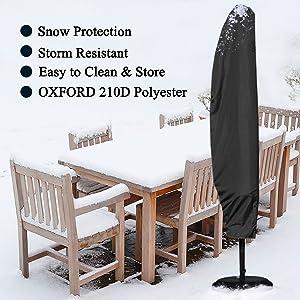 copertura di protezione parasole Cosansys Parasole Copertura-Nuovo Copertura Umbrella con Rod