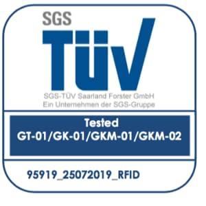 TÜV Geprüfter RFID Schutz