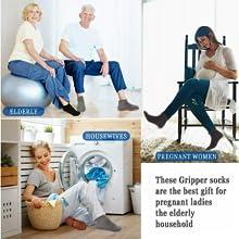 Multi-purpose non slip socks