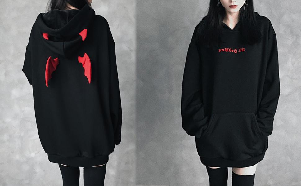 Cat Ear Hoodie Sweater for Women Kombat X
