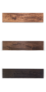 rugged distressed floating shelves solid wood maple poplar hardwood