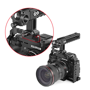 SMALLRIG Cage Jaula X-T3 para la Cámara Fujifilm X-T3-2228: Amazon ...