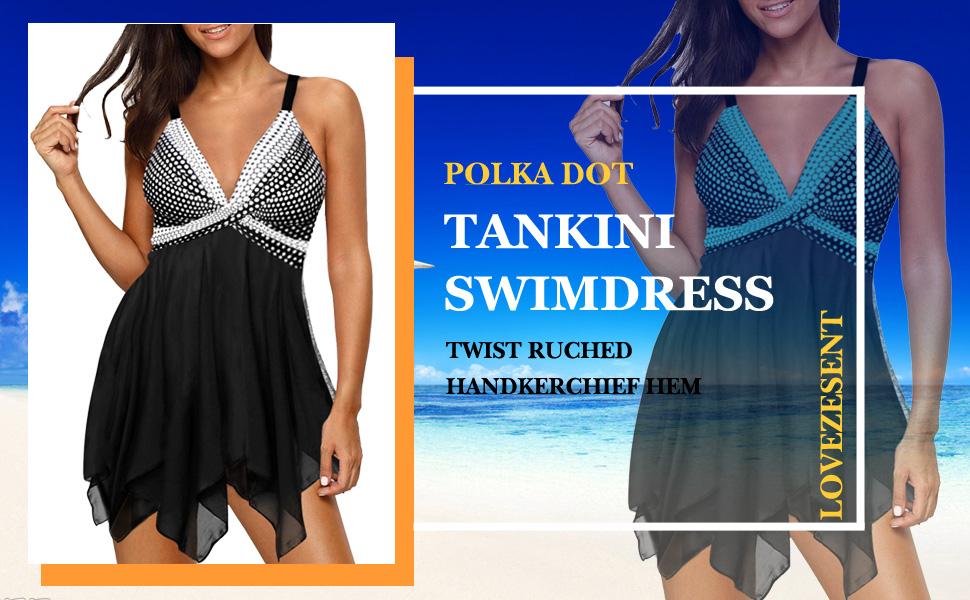 Tankini Swimdress
