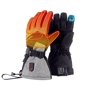 heated gloves feature
