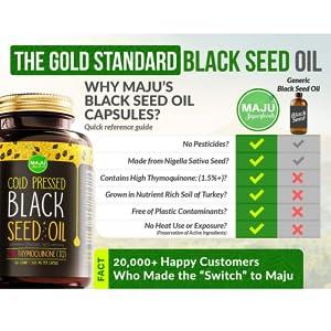 black seed oil comparison