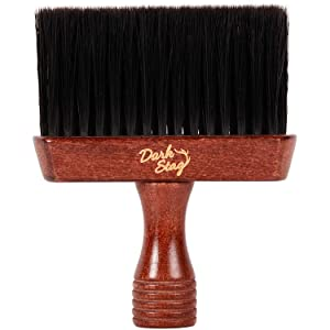 Features extra soft bristles to effortlessly remove cut hair