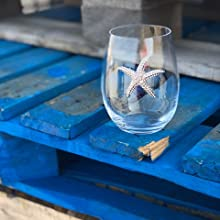 Starfish Sheer Rim High Quality Jeweled Wine Glass for wine enthusiasts all over the world