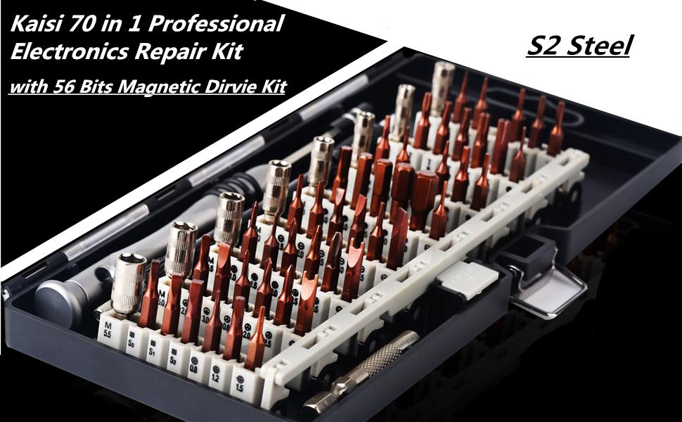 Kaisi 70 in 1 Professional Electronics Repair Kit