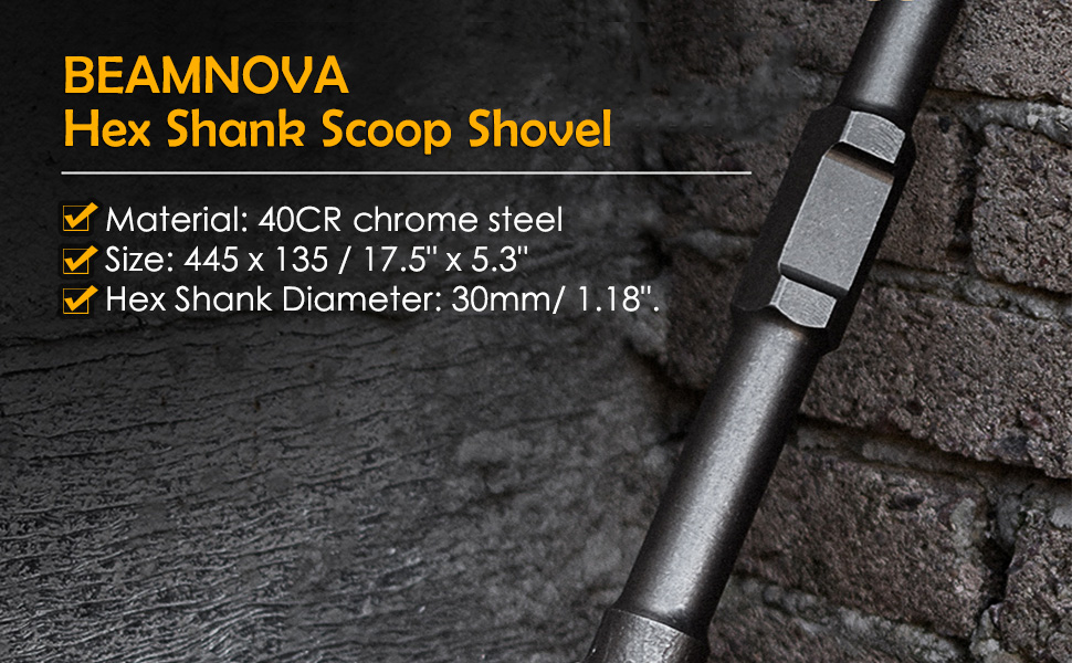 jack hammer shovel