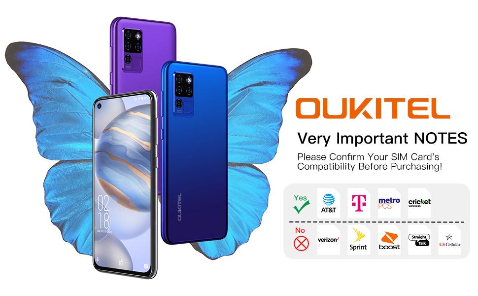 Unlocked Smartphone OUKITEL C21