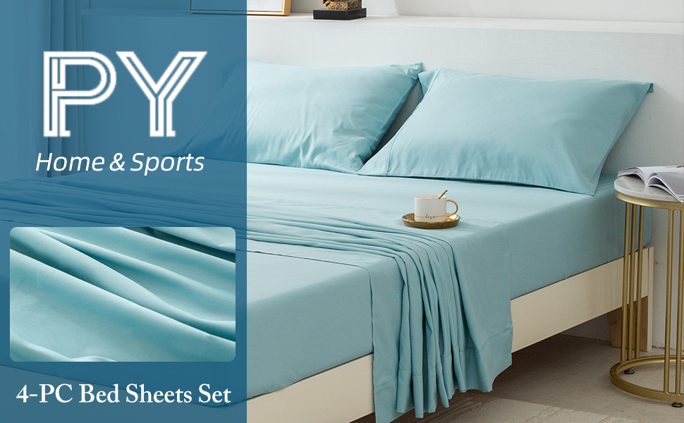 PY HOME & SPORTS Bed Sheets Set