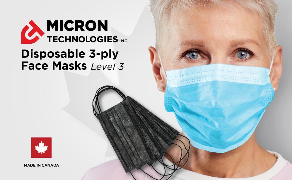 Woman Wearing Micron Technologies Inc Mask