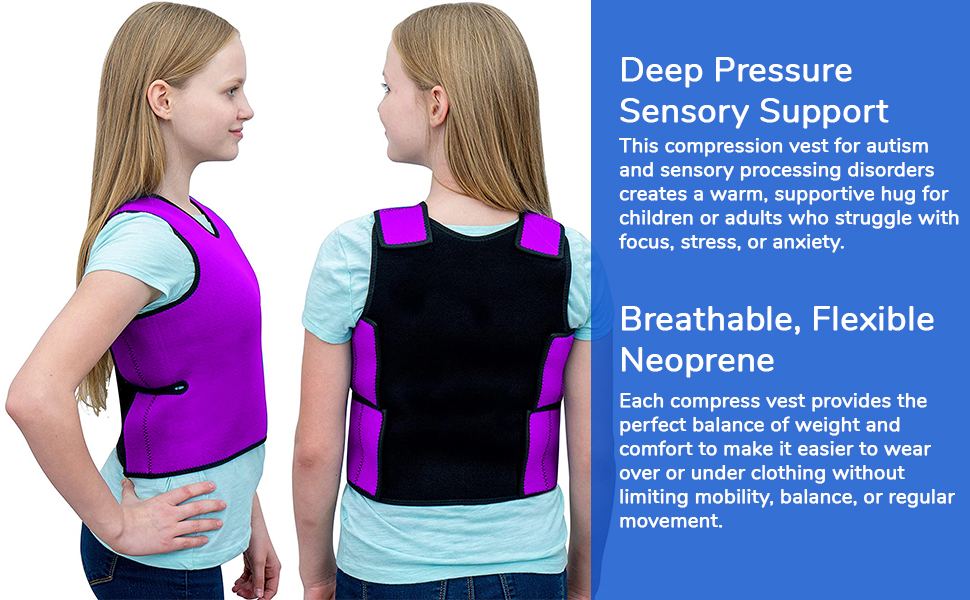 Sensory Compression Vest for kids and teens