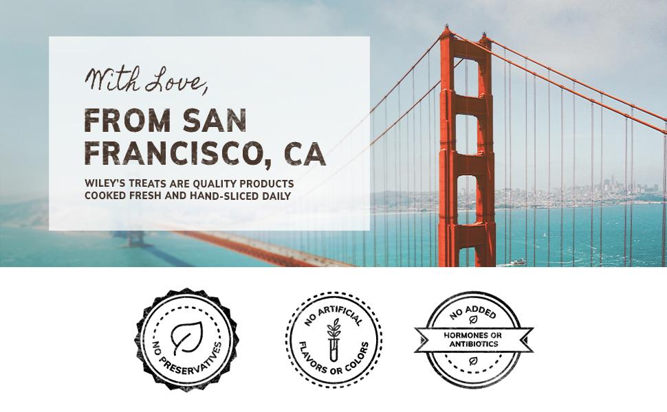 Eco Pawz, Wiley's Treats, Dog Treats, San Francisco, Grain-Free, Protein, Gluten Free, All Natural