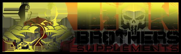 Iron Brothers Stim Free Logo,Yellow and Black,weight loss,green tea,apple cider vinegar, diet pills