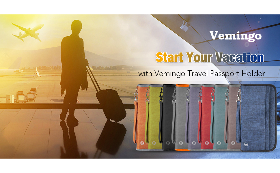 Star Your Vacation with Vemingo Travel Passport Holder