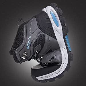 Waterproof & Anti-skid These hiking boots