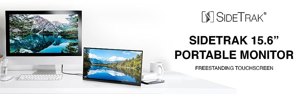 SideTrak portable touchscreen monitor with kickstand