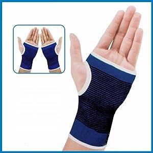 Elastic Palm Wrist Hand Grip Protector Brace Sleeve Support Glove