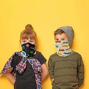 Banydoll Kinder Multifunktionstuch Sommer Mundschutz Schlauchtuch f/ür Jungen und M/ädchen