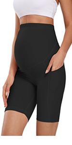 maternity bike shrots maternity running sport shorts