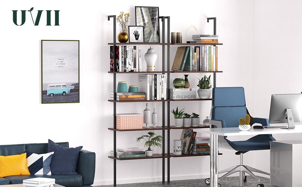 UVII ladder shelf bookcase