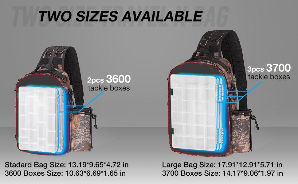 fishing tackle gear backpack