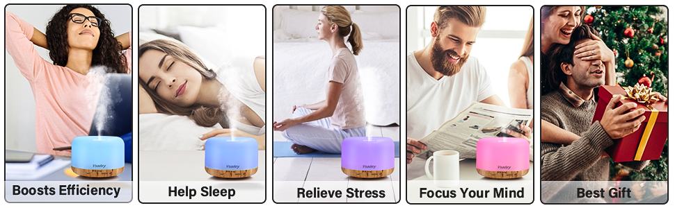 diffuser with essential oils included