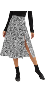 chiffion skirt