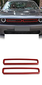Grill Grille Insets Trim Cover for Challenger