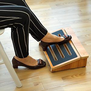 office foot rest desk