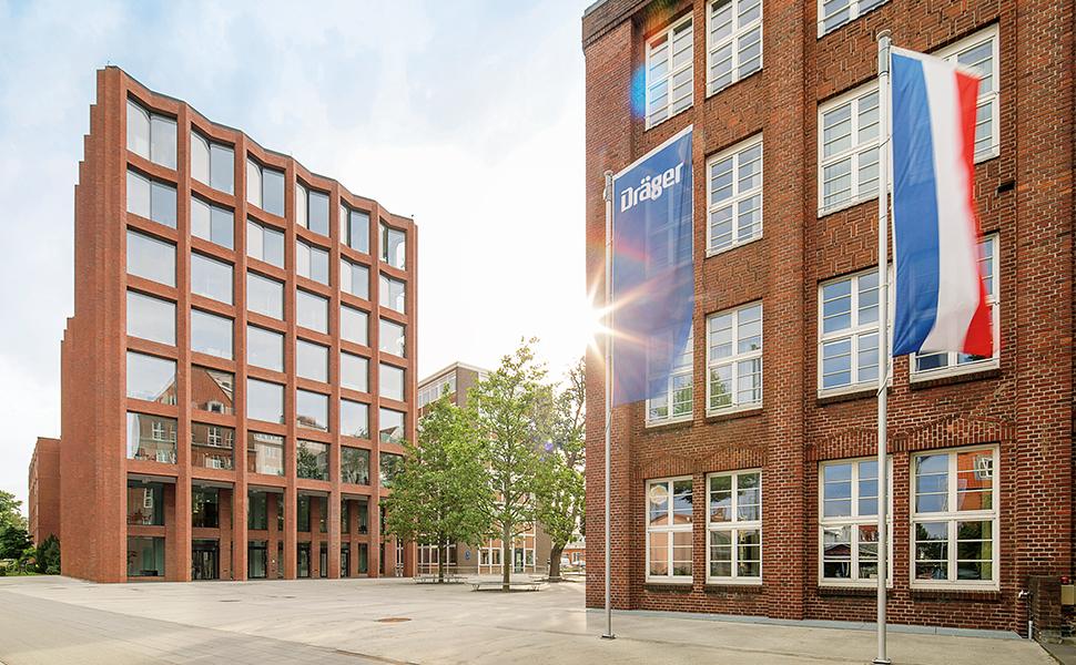 Dräger HQ In Germany Lübeck