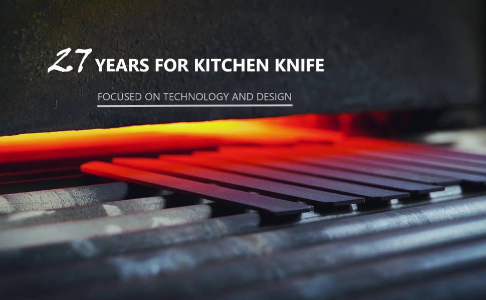 27 Years for kitchen knife