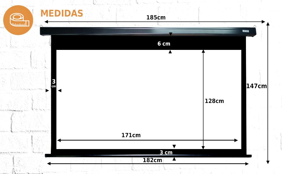 """pantalla electrica de 72 pulgadas, pantalla de proyeccion electrica de 84"""", pantalla motor 84"""""""